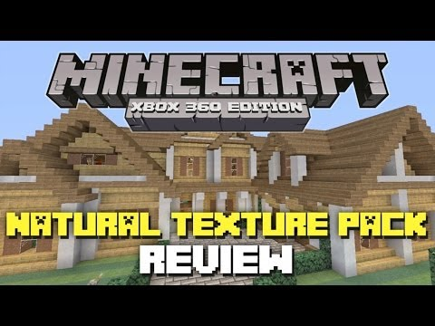 Minecraft Xbox 360: 'Natural' Texture Pack Review! (Danville and Los Dangeles!)