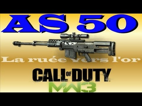 AS50 - J'adore ce sniper AS50 ! Un j'aime ca fait plaisir, Merci Playlist la ruée vers l'or ici : http://www.youtube.com/playlist?list=PLFB29FFED0DDA6425&feature=vi...
