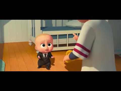 Boss Baby (2017) || Brotherly fun sence || cartoon animation