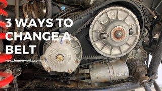 8. How to Change a Polaris RZR or Ranger Belt