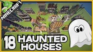 18 Haunted Houses in Minecraft!!!!