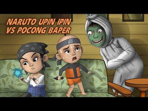 Download Video Naruto Upin Ipin VS Pocong Baper - Kartun Hantu Lucu | Rizky Riplay