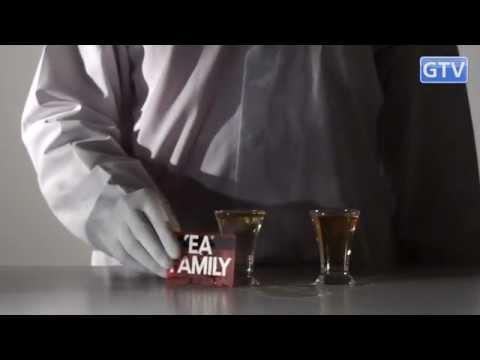Вода и виски меняются местами - физические опыты