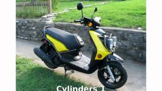 2. 2009 Yamaha Zuma 125 Specification, Review