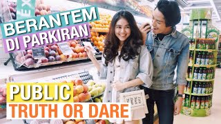 Video BERANTEM DI PARKIRAN | Truth Or Dare Ditempat Umum MP3, 3GP, MP4, WEBM, AVI, FLV Juni 2019