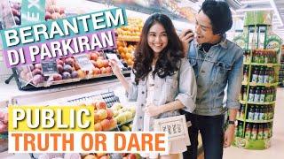 Video BERANTEM DI PARKIRAN | Truth Or Dare Ditempat Umum MP3, 3GP, MP4, WEBM, AVI, FLV Juli 2018