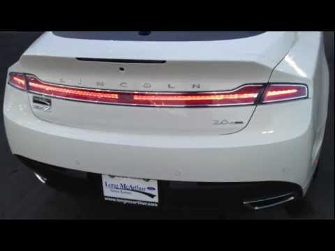 The New 2013 Lincoln MKZ-Start Up And In Depth Review-Long McArthur Ford-Salina KS-67401!!