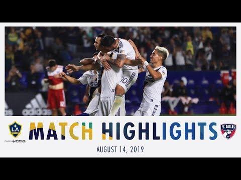 Video: HIGHLIGHTS: LA Galaxy vs. FC Dallas | Aug. 14, 2019