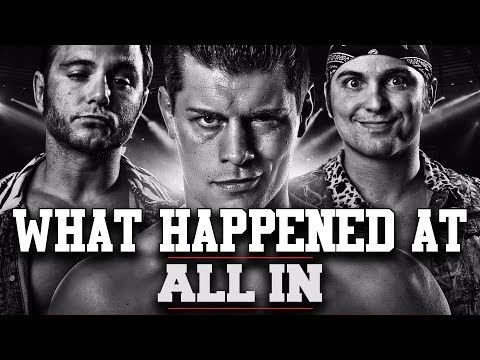 WHAT HAPPENED AT: ALL IN