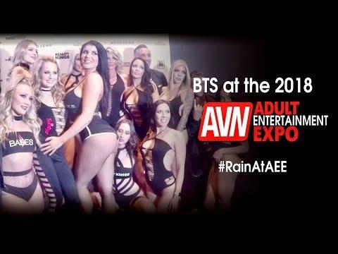 Romi Rain at the 2018 Adult Entertainment Expo (видео)