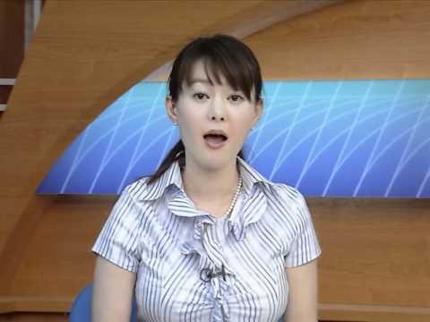 「[TV]『パイナップル乳』を持つNHK沖縄の竹中知華アナのスライドショー。」のイメージ