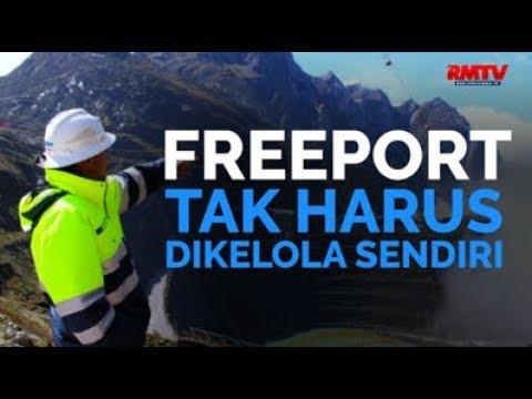 Freeport Tak Harus Dikelola Sendiri
