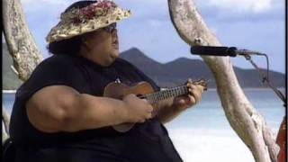 "Buy the Album: http://www.izhawaii.com/store Israel ""IZ"" Kamakawiwoʻole's ""White Sandy Beach of Hawaiʻi"" from the Platinum ..."