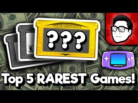 Top 5 RAREST Game Boy Advance Games! (USA) | Nintendrew