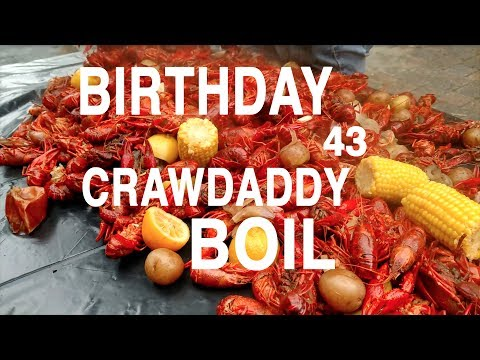 ILLEGAL STREET BIRTHDAY CRAWFISH BOIL PG16