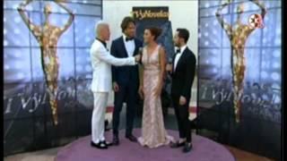 Angelique Boyer Y Sebastian Rulli en Premios TVyNovelas 2016 Alfombra Roja