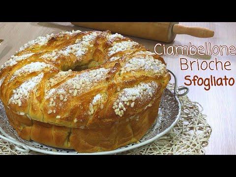 CIAMBELLONE BRIOCHE SFOGLIATO SIMIL CROISSANT ricetta semplice  BRIOCHE CROISSANT - Tutti a Tavola