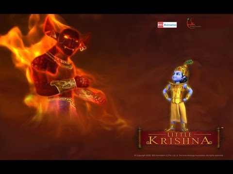 Little Krishna Tamil - Episode 5 Fire and Fury