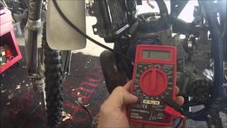10. Yamaha YZ250 Project - Part 2 - Problem Found
