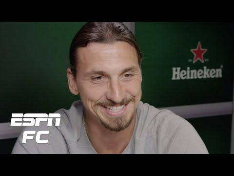 Zlatan Ibrahimovic exclusive interview: On Ronaldo, stealing bikes, coaching feuds, more | ESPN FC