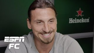 Video Zlatan Ibrahimovic exclusive interview: On Ronaldo, stealing bikes, coaching feuds, more | ESPN FC MP3, 3GP, MP4, WEBM, AVI, FLV Oktober 2018