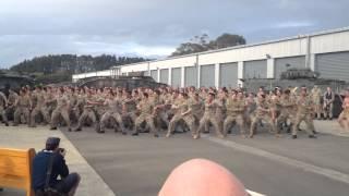 Tak wygląda taniec wojenny nowozelandzkiej armii! Chłopaki roz*ebali system!