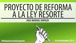 Jose Manuel Dopazo: Reforma a la Ley de Responsabilidad Social en Radio y Televisión