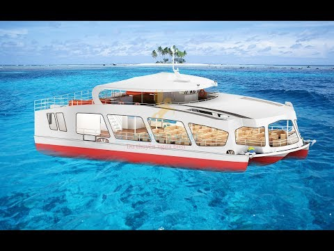 Du Thuyền Ngựa Biển - Tàu nhà hàng 3 thân 200 khách