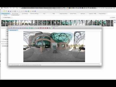 Stitching 360 Panoramas – PTgui Pro – Example 2