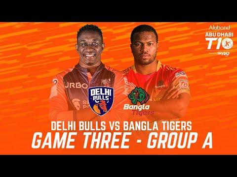 Match 3 HIGHLIGHTS I Delhi Bulls vs Bangla Tigers I Day 1 I Abu Dhabi T10 I Season 4