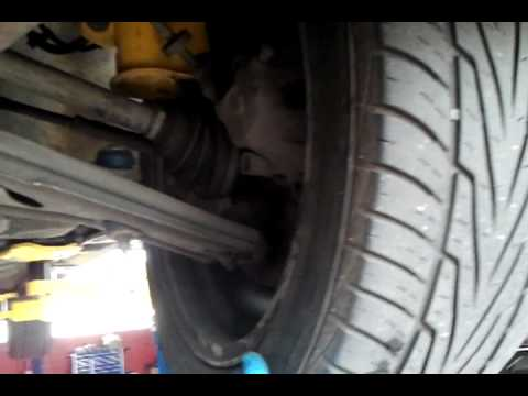SAAB 9000 aero: bad wheel bearing /hub
