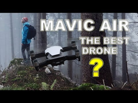 DJI MAVIC AIR - Is it the best drone?  Better than Mavic Pro and Spark?