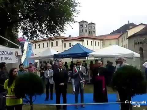 Festa di Como, il sindaco Lucini inaugura Sant'Abbondio 2016