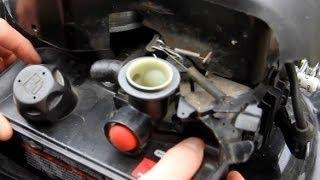 Panne carburateur membrane changer les membranes carburateur membrane - Reglage carburateur a membrane ...