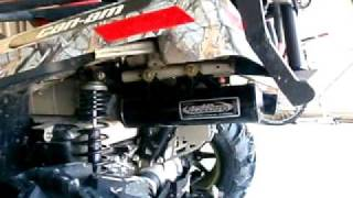 10. Looney Tuned Exhaust Can-Am Outlander XT 650