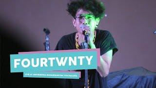 "Video [HD] Fourtwnty - Sementara ""Float Cover""  (Live at Universitas Muhammadiyah Yogyakarta, Mei 2017) MP3, 3GP, MP4, WEBM, AVI, FLV September 2017"