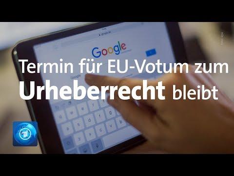Urheberrecht: Abstimmung über Artikel 13 wird nicht verschoben