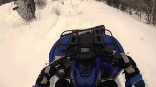 8. 2002 Yamaha Grizzly 660  Plowing snow