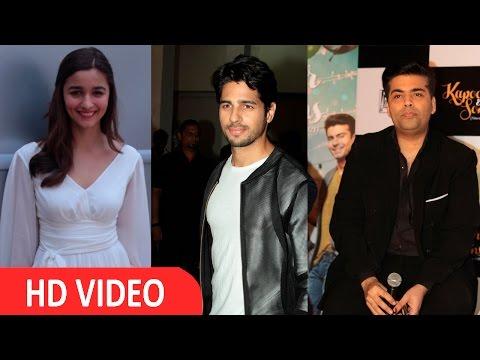 Alia Bhatt & Sidharth Malhotra Not Part Of Student Of The Year Sequel : Karan Johar