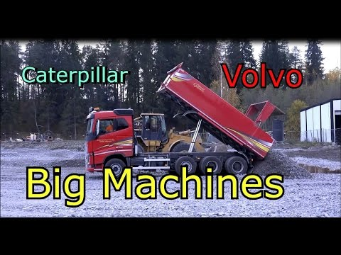 Caterpillar 320d Excavator Cat 972g Wheel Loader Volvo Truck-Лучший грузовик в мире