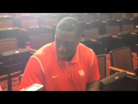 Joey Mbu Interview 10/7/2014 video.