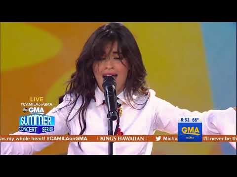 Video Camila Cabello - Never Be The Same (LIVE on GMA) download in MP3, 3GP, MP4, WEBM, AVI, FLV January 2017