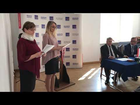 Wideo1: Podpisanie umowy partnerskiej z Dunaújváros