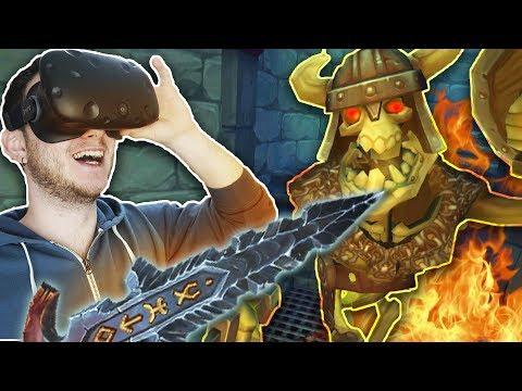 ВОИН ПОДЗЕМЕЛИЙ! | Vanishing Realms (HTC Vive VR)