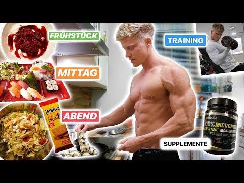 KOMPLETTER TAG IN DER DIÄT! Full Day of Eating zum Abnehmen