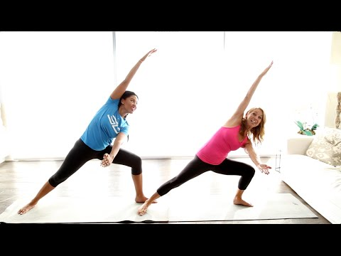 Fitness Thursday: 2 Minute Yoga Pose (Warrior) with Denise Austin