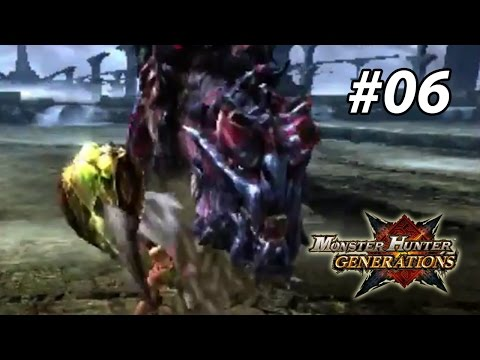 MHGen Playthrough (no Armor & Solo) #06 - 6* Village & Fated Four Quest