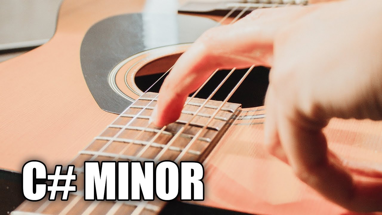 Acoustic Guitar Backing Track In C# Minor | For You