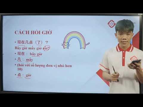 Full Cách biểu đạt thời gian trong tiếng Trung trong 50 Phút