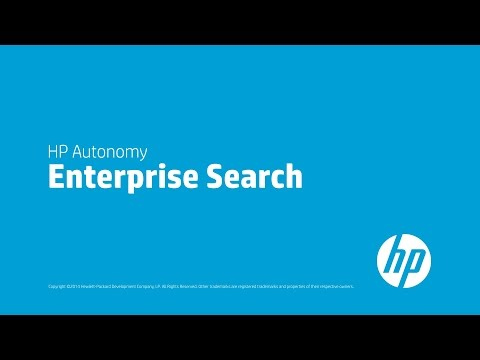 Enterprise Search - Powered by HP IDOL (Intelligent Data Operating Layer), the industry-leading human analytics engine, HP's Enterprise Search solution addresses the most demand...